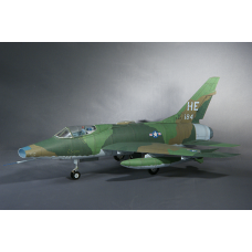 NORTH AMERICAN F-100D SUPER SABRE TFS